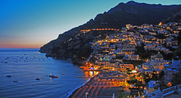 Shopping & Dinner in Positano